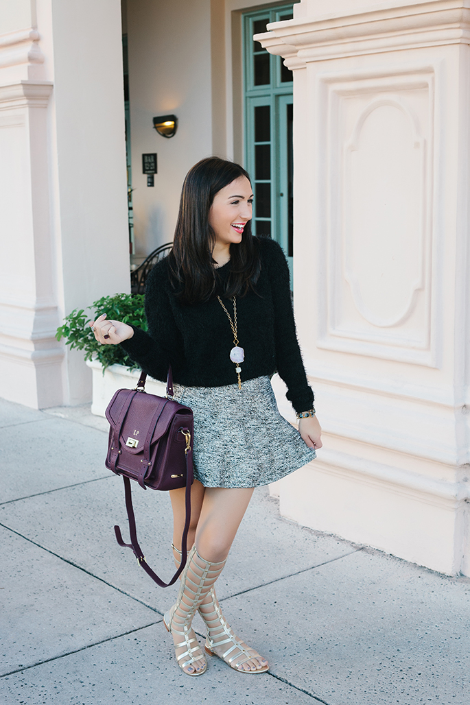 thefashionistasdiary+fallfashion+giginewyork+miamifashionblogger+hmwillow+druzy+sweater+skirt