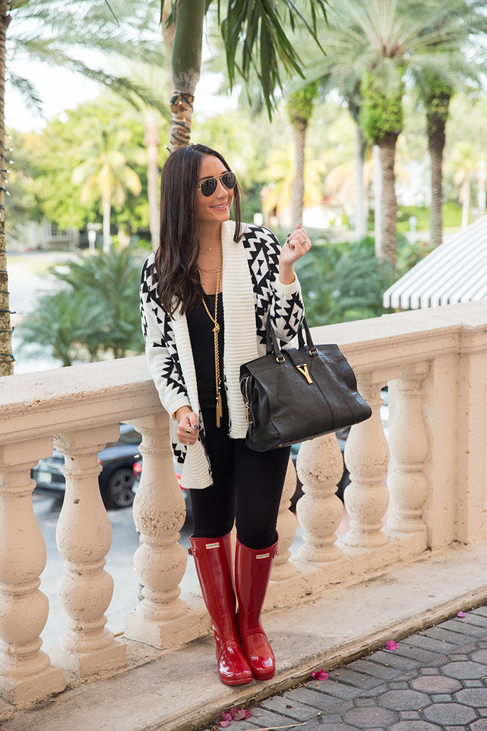 black+and+white+cardigan