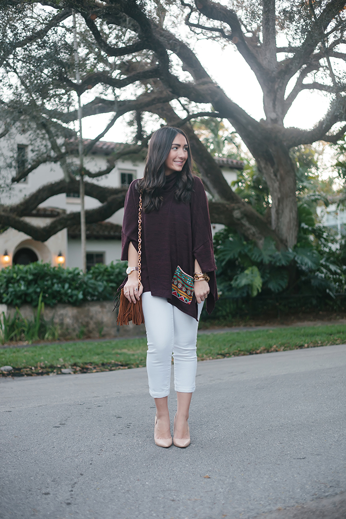 poncho-white-jeans-nordstrom-nude-pumps-the-fashionistas-diary
