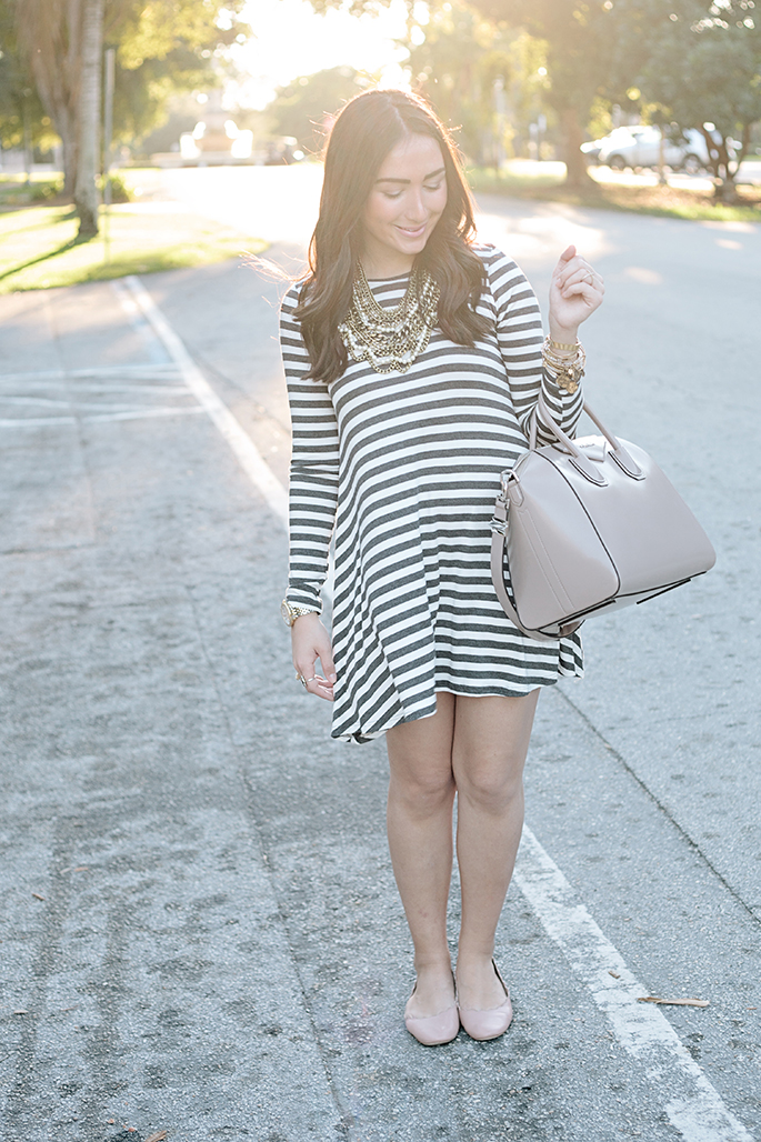 striped-casual-dress-the-fashionistas-diary
