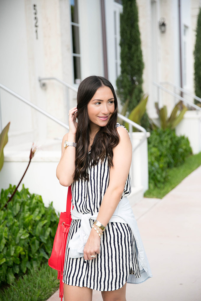casual-striped-dress