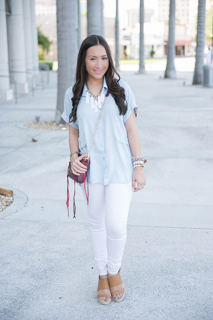 casual-blouse-with-pockets