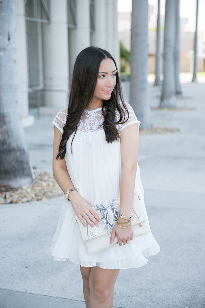 white-pleated-dress