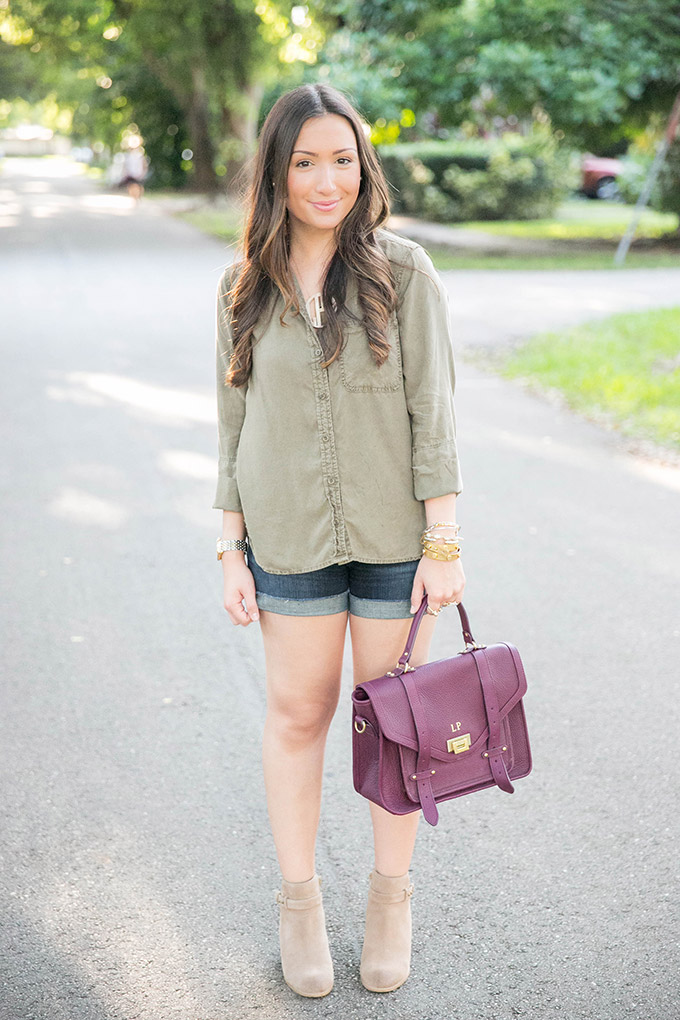 olive-green-top