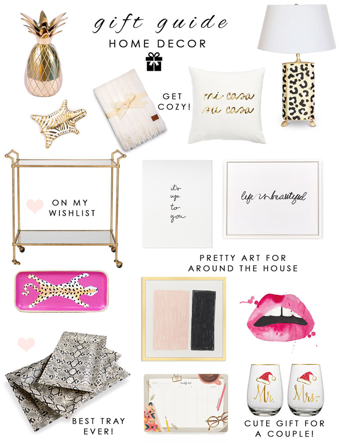 Gift Guide 2015 Home Decor The Fashionista 39 S Diary