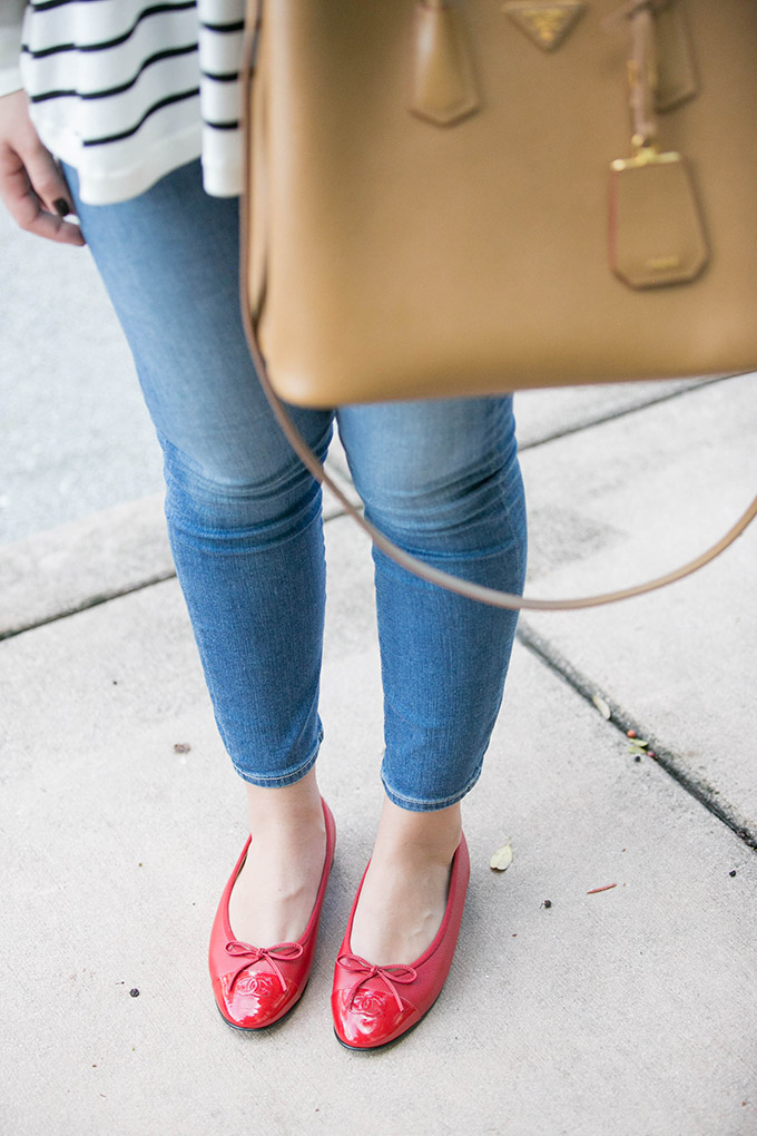 red-chanel-ballet-flats