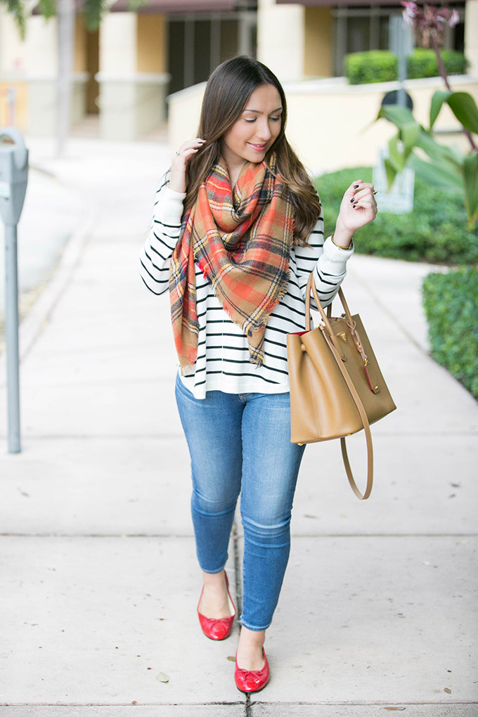 stripes-and-plaid-fall-outfit