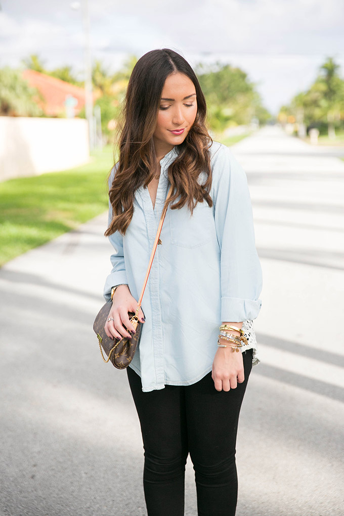 denim-and-lace-top