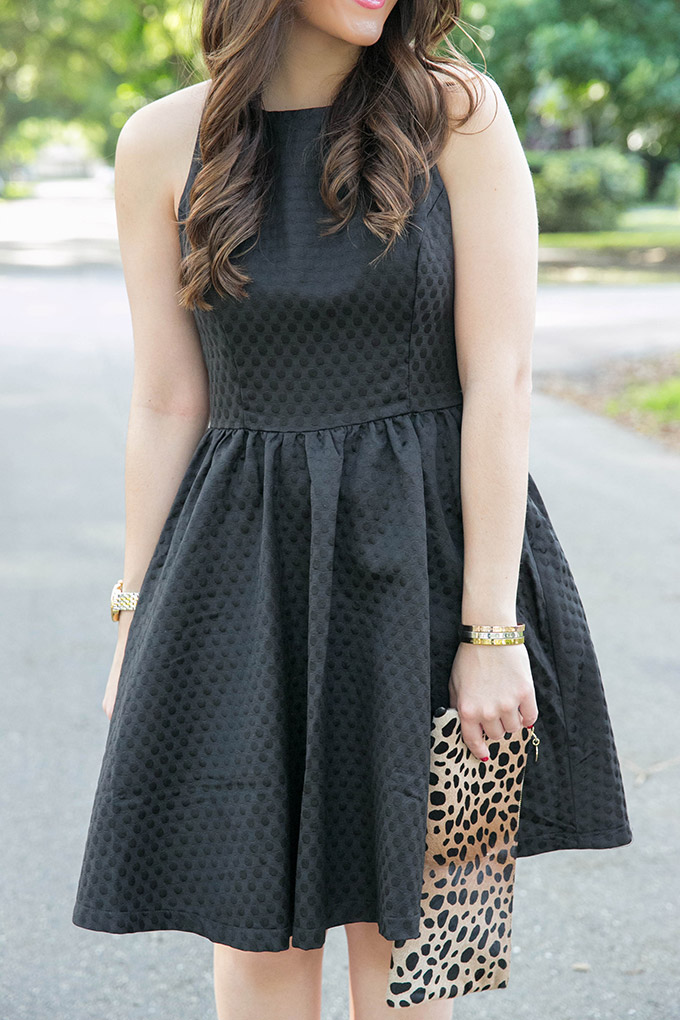 soprano-textured-skater-dress