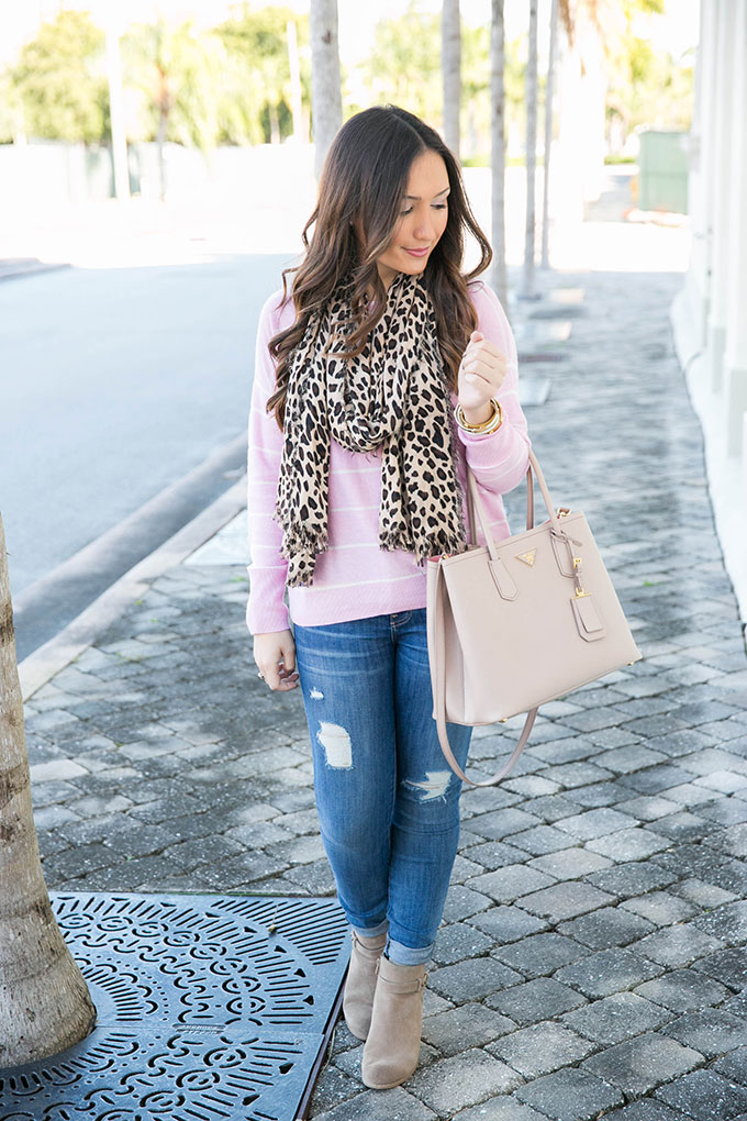 pink-stripe-sweater