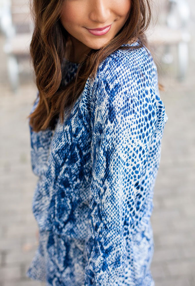 blue-printed-dress