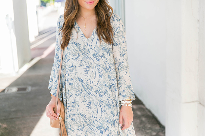 printed-bell-sleeve-dress