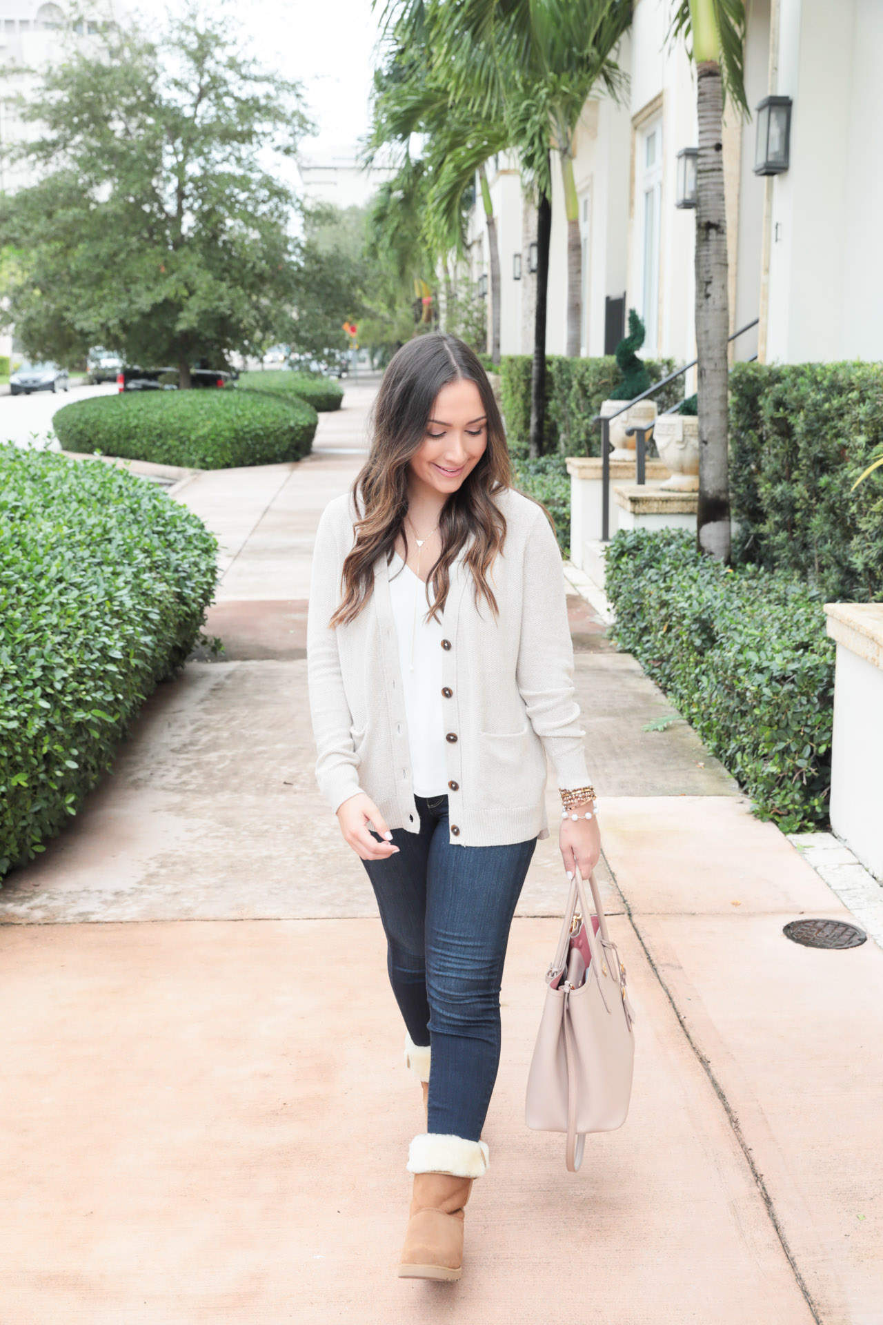 Casual fall style with UGG boots